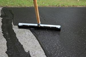 How To Repair And Reseal A Driveway In 2020 Diy Driveway Driveway Repair Asphalt Driveway Repair