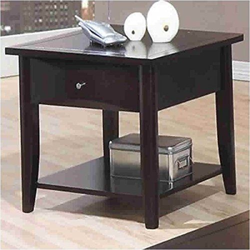 Coaster Home Furnishings 700967 Casual End Table Cappuccino