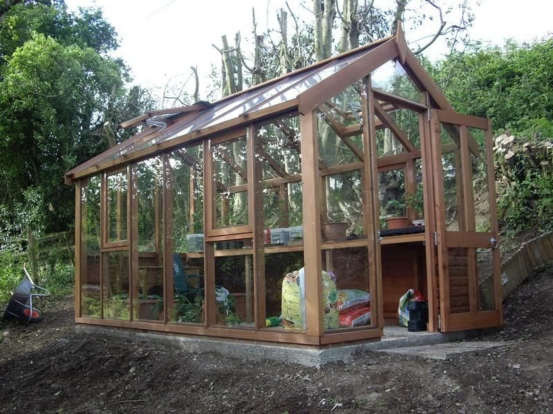 DIY Wonderful Greenhouse Plans. Note The Tilt Out Half Windows Part 77