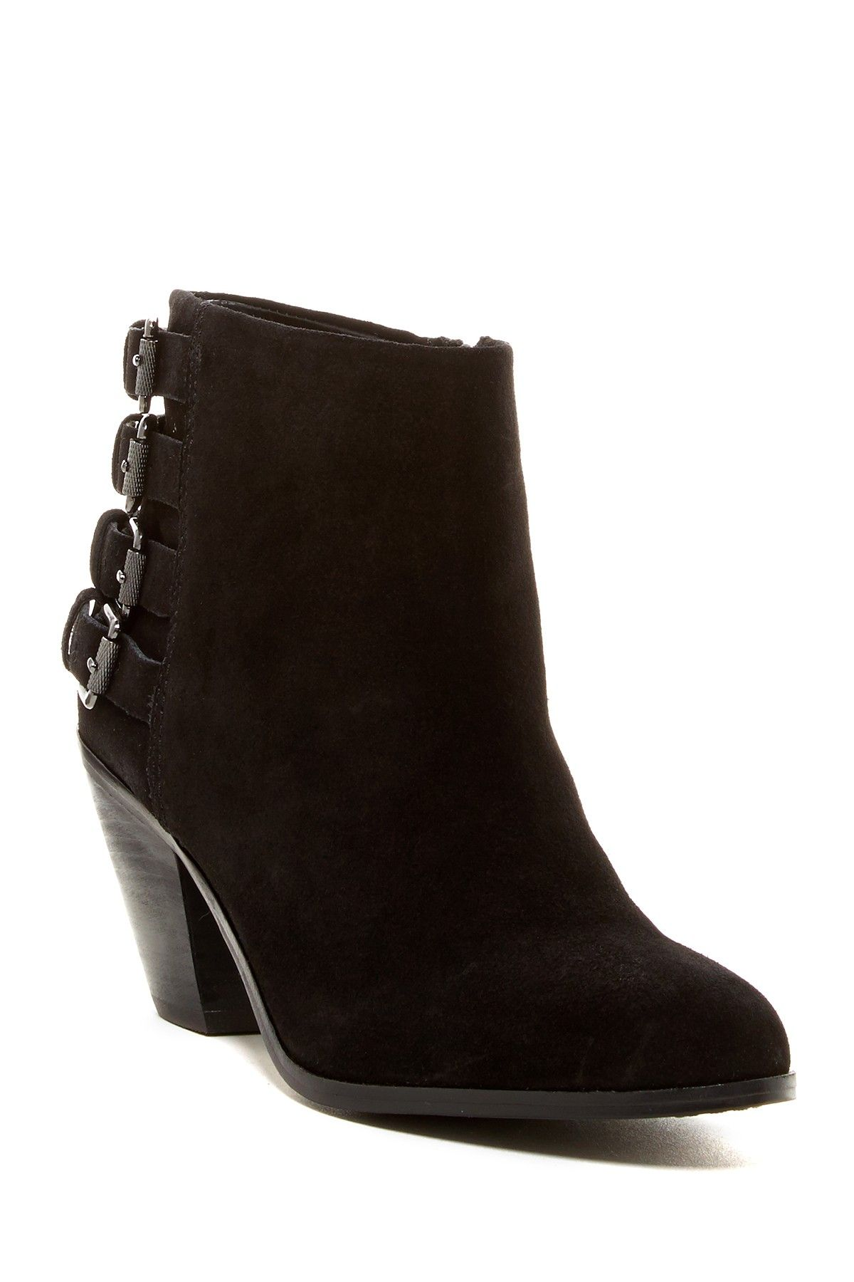 8adc1abe5 Lucca Suede Buckle Bootie