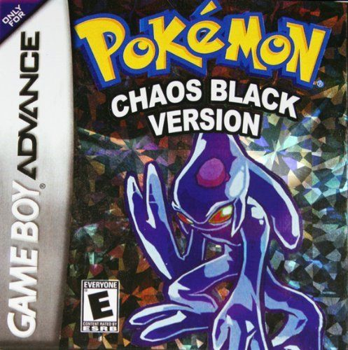 Pokemon Chaos Black Version Gameboy Advance Amazon Everything Else Gameboy Nintendo Game Boy Advance Pokemon
