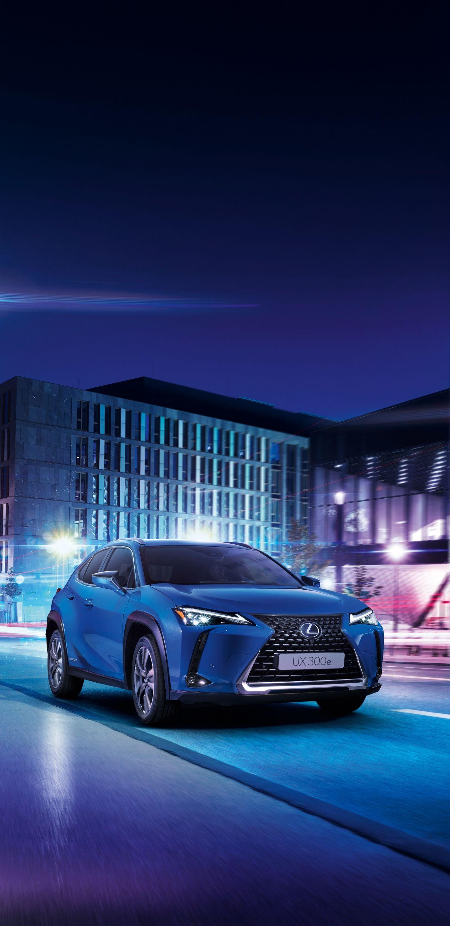 1440x2960 Blue Car 2020 Lexus Ux 300e Wallpaper Blue Car Lexus Car Wallpapers
