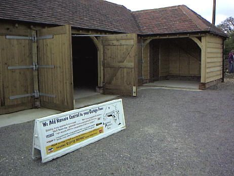 hinged barn doors. Side Hinged Barn Doors - A Portfolio Of Our Remote Controlled Conversions