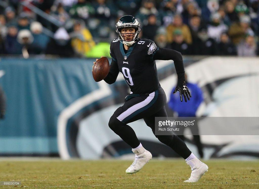 News Photo Quarterback Nick Foles of the Philadelphia