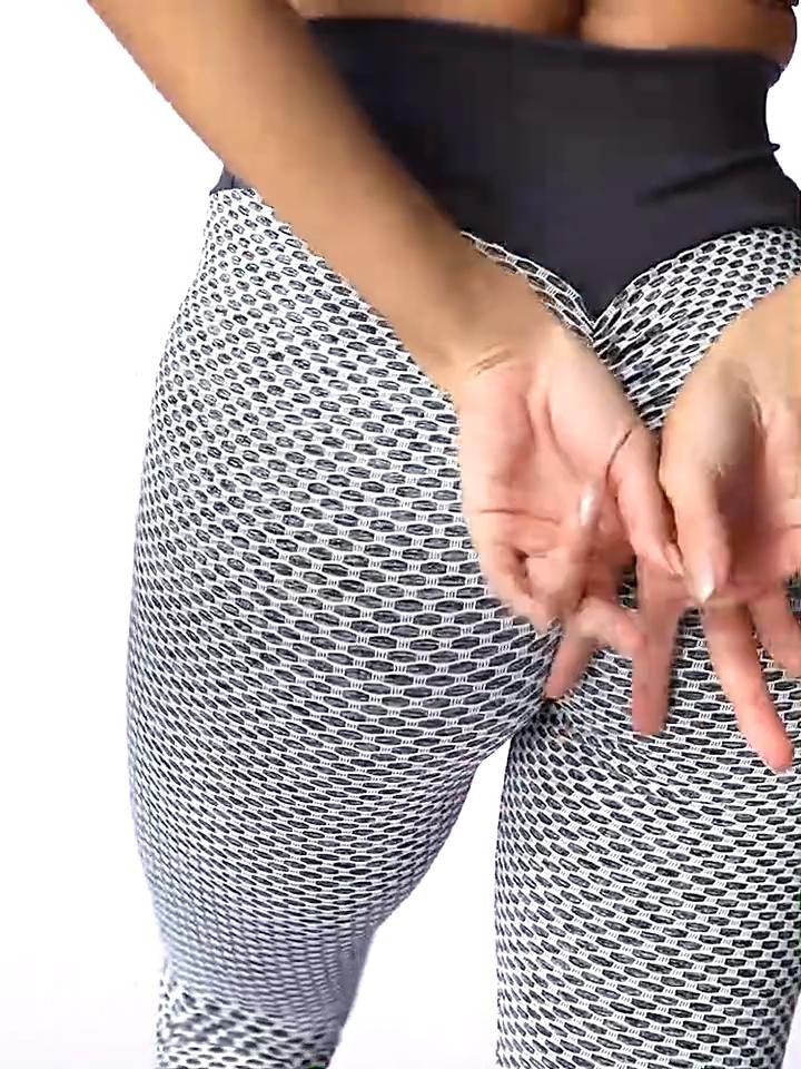 Estas leggings modernas, que são uma combinação perfeita de maciez e elasticidade, fazem tudo por voc