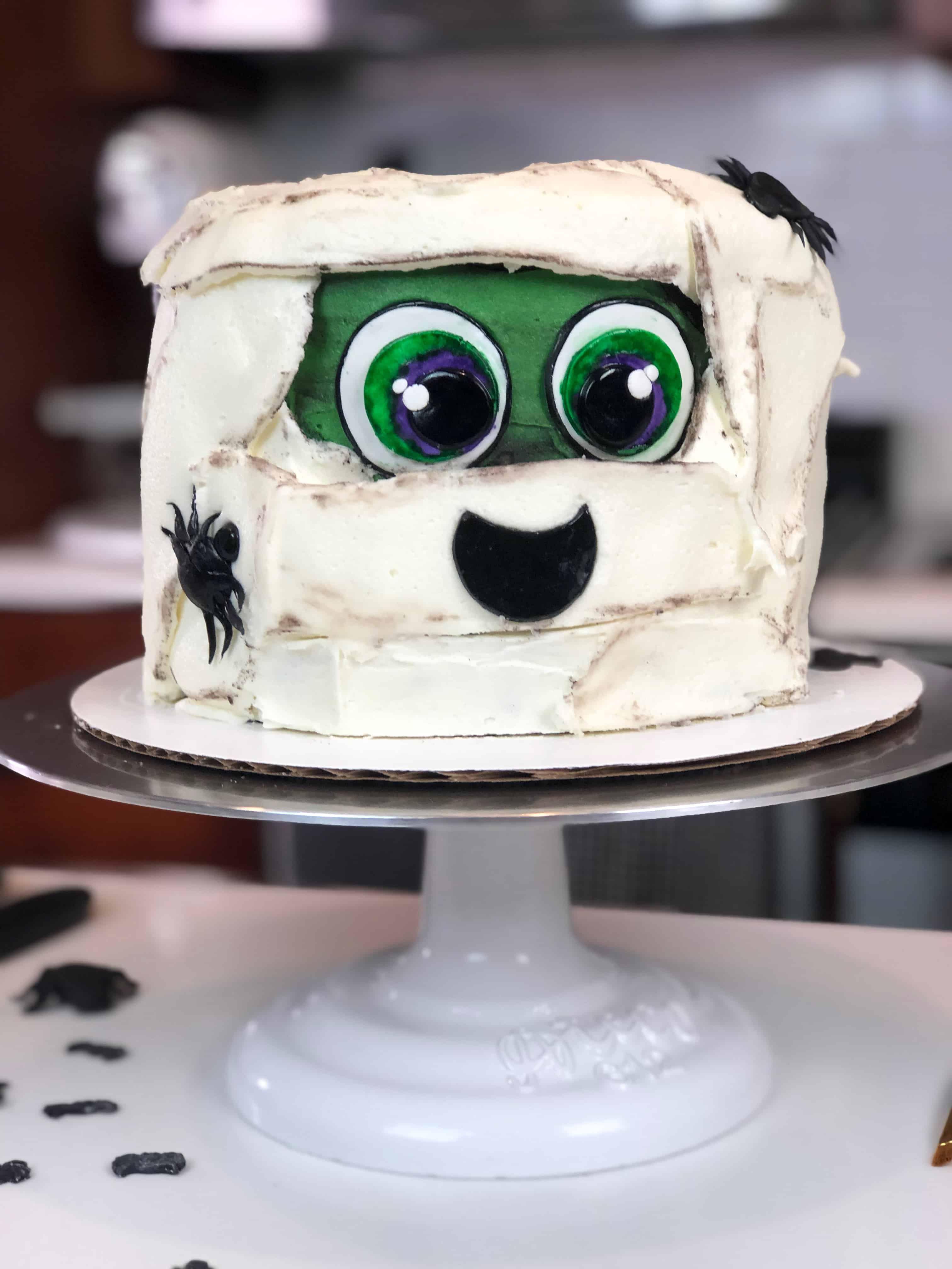 Mummy cake recipe cake rainbow sprinkle cakes