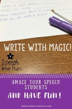 Want to amaze your speech and language students? Want to keep them motivated to work on a variety of goals?!