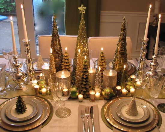 elegant christmas decorations design pictures remodel decor and ideas page 18 - Elegant Christmas Dining Room Decorations