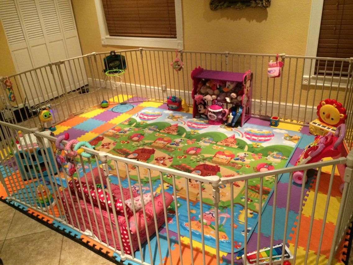 Baby Playpen How Playyard Idea Playpen Baby Play Areas Toddler Play Yard