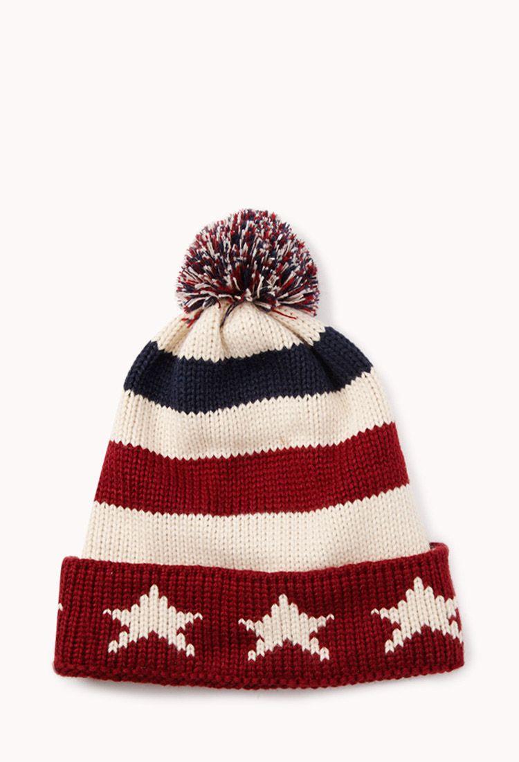 0277e55ab80ce Star Spangled Pom Hat