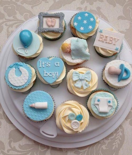 Cupcakes que harán felíz a toda embarazada en su Babyshower  7e6d18230e2