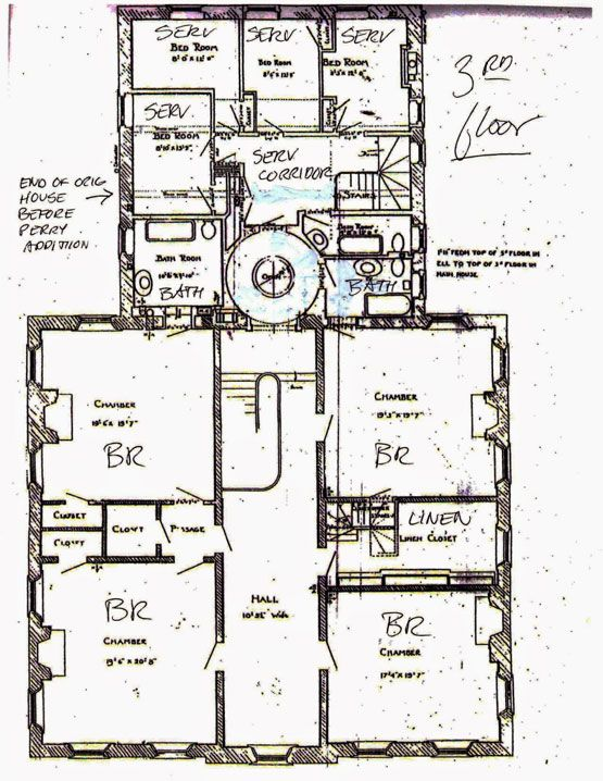 Big Old Houses Power Benefit Architectural Floor Plans Old Houses Floor Plans