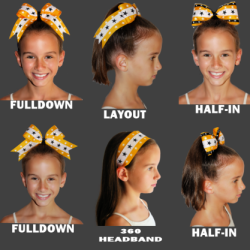 Excellent 1000 Images About Ideas For Cheerleaders Hair On Pinterest Short Hairstyles Gunalazisus