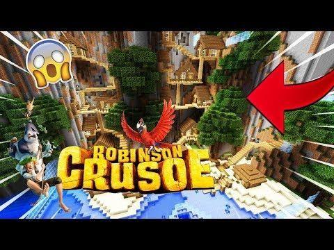 Cache Cache Sur Minecraft Map Robinson Crusoé Tarzan Ps4