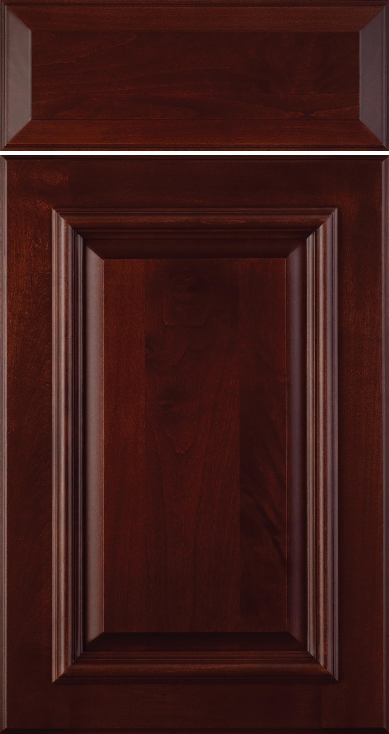Needham 325d Alder Cabernet With Brown Glaze Cabinet Doors Doors Drawer Fronts