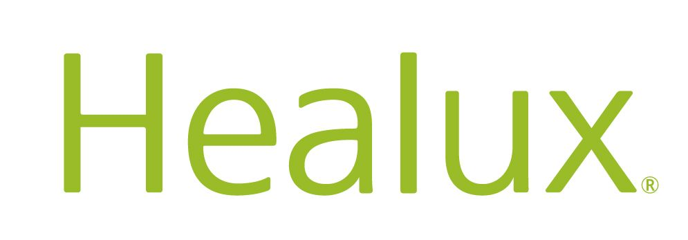 Healux logo with white background