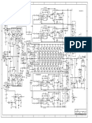 SCH TRX 6000-AMP 11-03-08 | dccim in 2019 | Audio amplifier