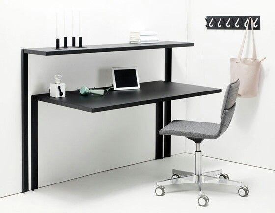 'Hold on' desk and shelves by Xavier Lust for Gispen