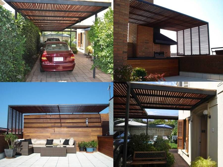 Cobertizos de fierro metal buscar con google for Casas con cobertizos