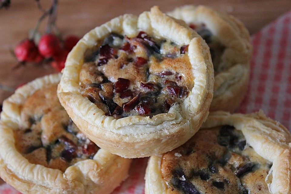 Zwiebelkuchen Muffins Essen Und Trinken