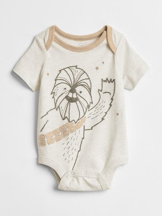bdc842052 Gap Baby Babygap | Star Wars™ Bodysuit Hardware Gray | Products ...