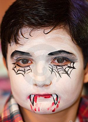 Vampire+Halloween+Face+Painting images of halloween face painting - maquillaje de halloween para nios