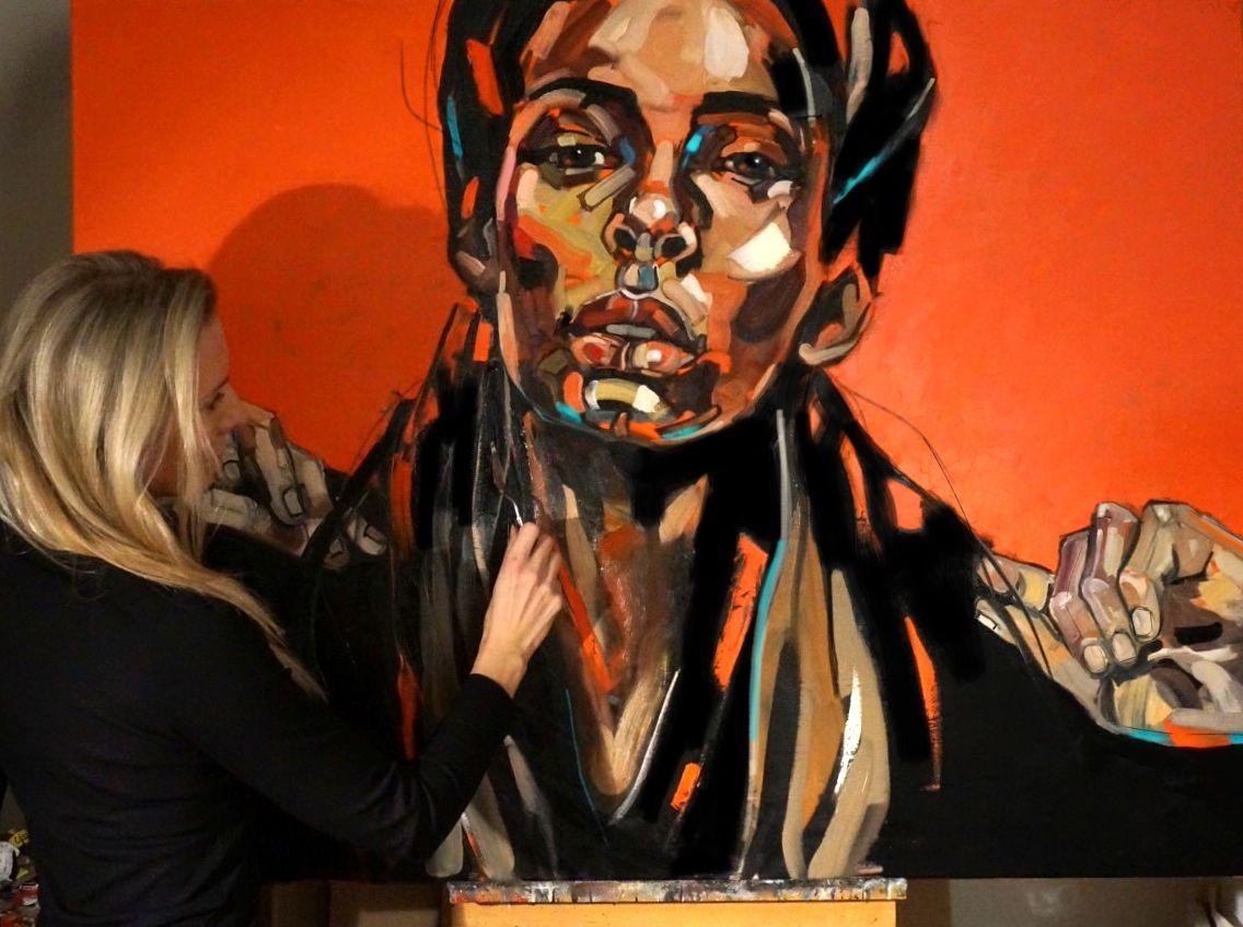 Summer Evening, oil on canvas 97x 130cm, 2015