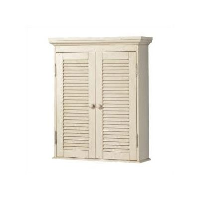 """Hazelwood Home Cottage 23.75"""" x 29"""" Wall Mounted Cabinet"""