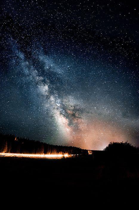 A summer night sky full of stars by Alisha Jurgens. Enjoy