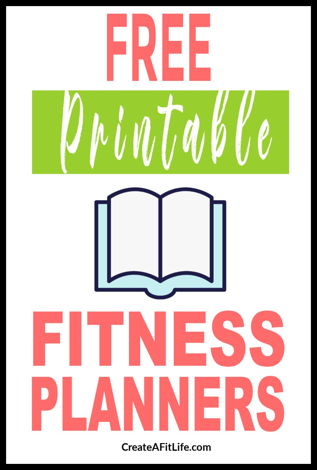 Free Printable Fitness Planners For Fitness Goal Setting