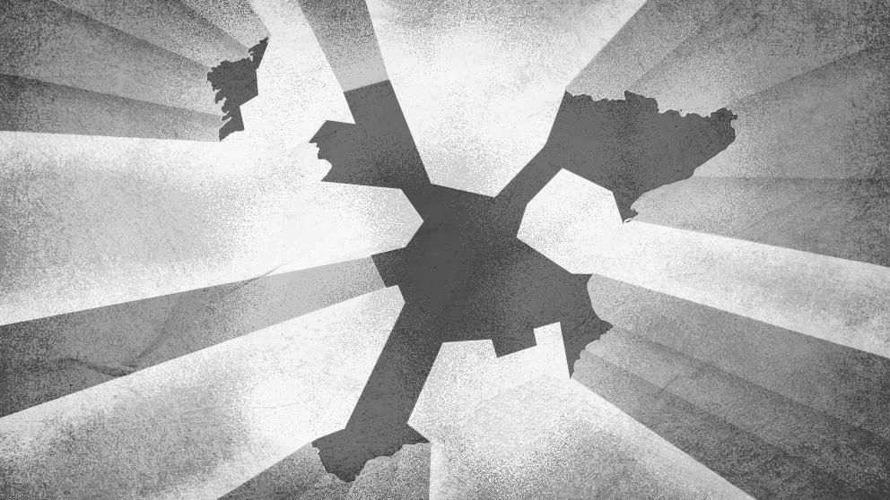 El Ave Que Mira De Reojo El Mapa De Espana Y Luego Lo Reinterpreta