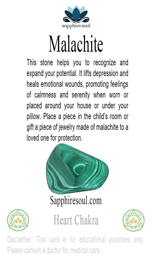 Malachite an excellent protection stone especially for