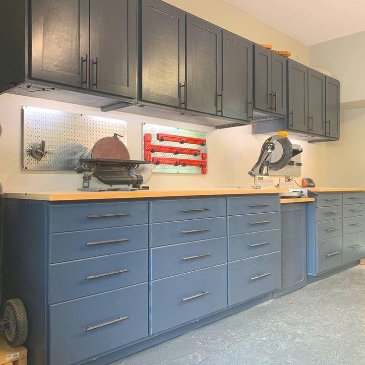 building garage storage cabinets youtube