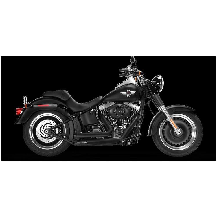 Advertisement Ebay Mf Legacy Classic Exhaust System Muffler Black Harley Fatboy Lo 2010 2017 10 17 In 2020 Harley Fatboy Fatboy Lo Black Harley Davidson
