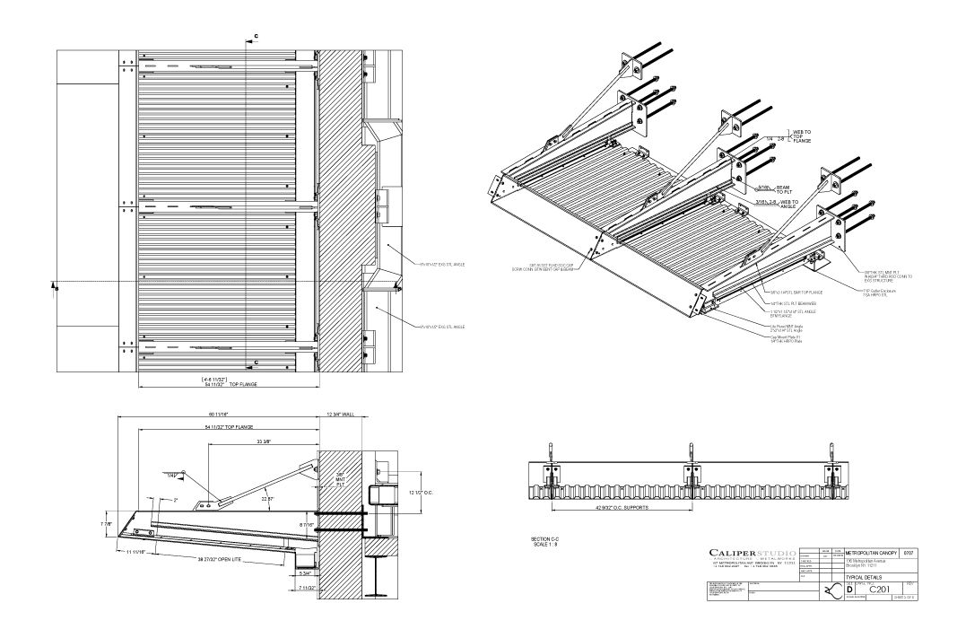 Nitehawk Cinema Awning Caliper Studio Awnings Roof