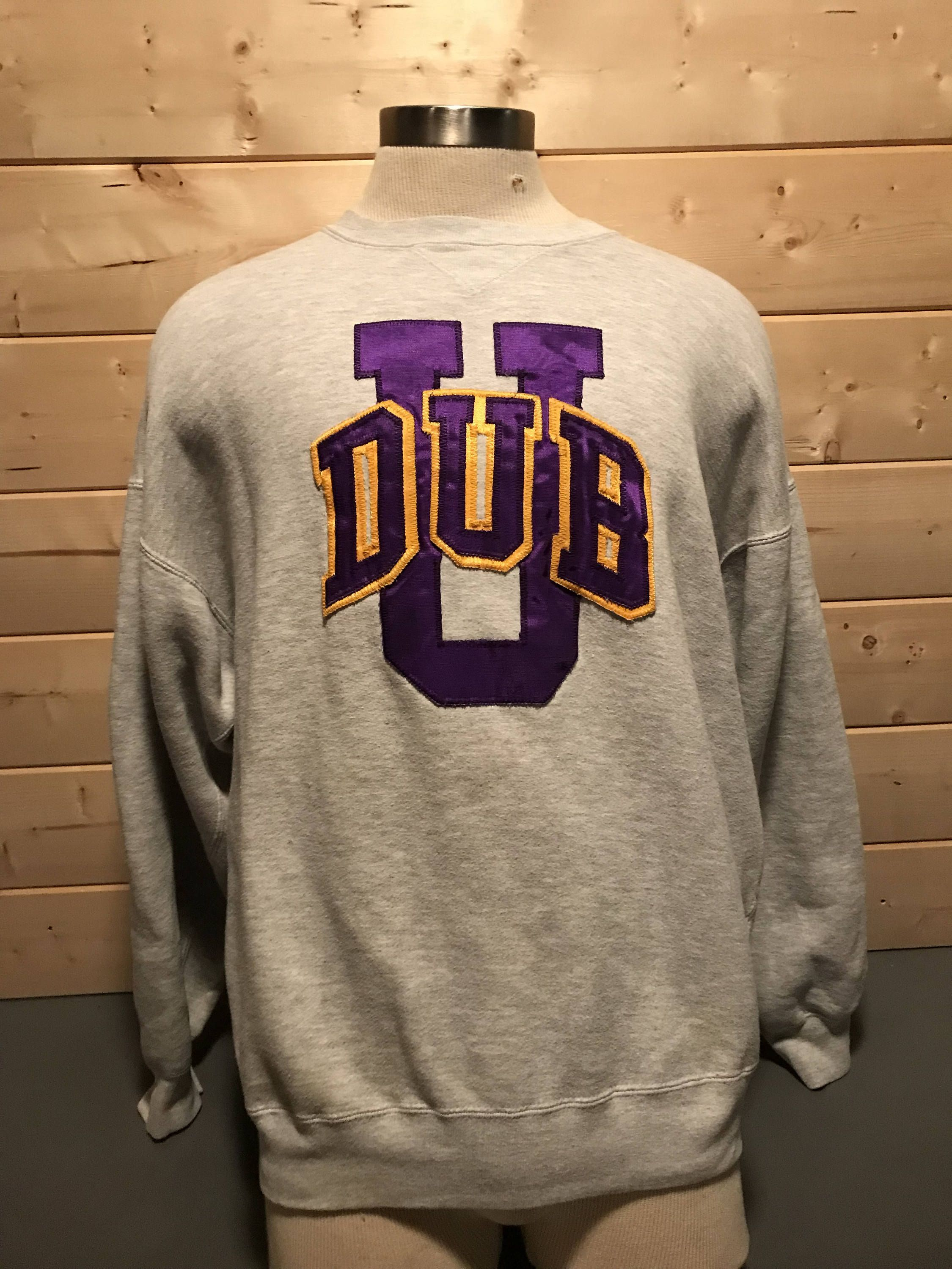 Vintage 1990 s UW Huskies washington Sweatshirt by 413productions on Etsy e5ff5e836
