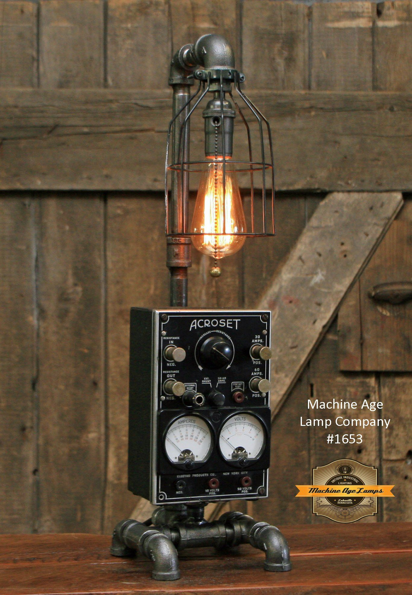 Pin On Shawn Carling And Machine Age Lamps