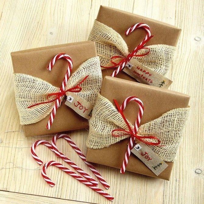 Geschenke verpacken für Weihnachten kreativ und stilvoll Weihnachtsgeschenke einpacken DIY schön