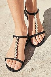 Next Embellished T-Bar Sandals. Get awesome discounts up to 30% at Ezibuy using Coupon and Promo Codes.