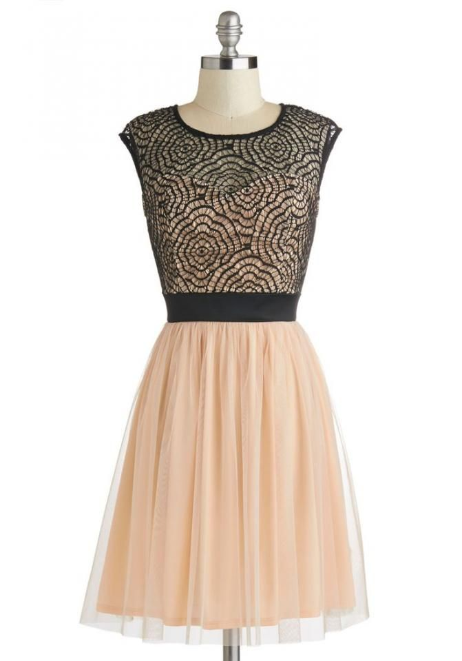 Rush Week Nude and Black Party Dress - Bourbon & Boots   How I Wish ...