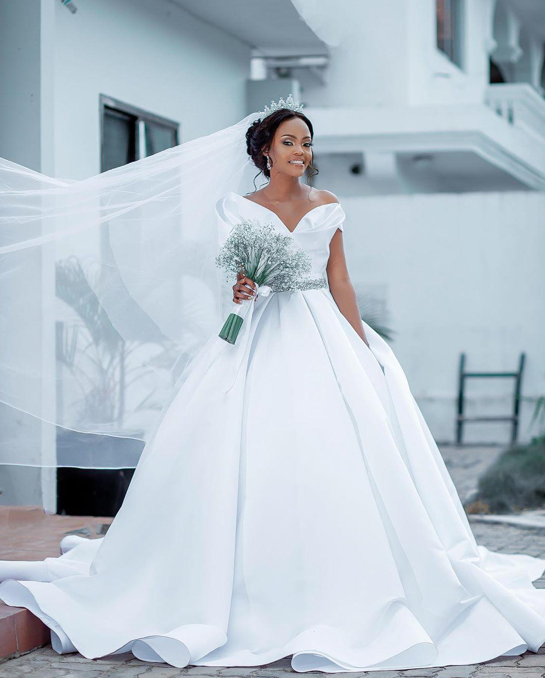 The Best Dressed Black Brides This Wedding Season In 2020 Black Wedding Dresses Black Bride Beautiful Wedding Dresses