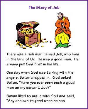 The Story of Job (Story) - Kids Korner - BibleWise | Bible ...