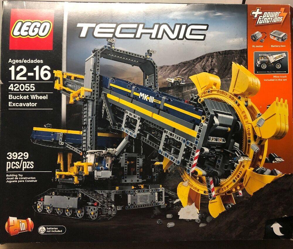 Lego Technic Bucket Wheel Excavator 42055 New Open Rough Box Afflink Contains Affiliate Links When You Click On Links To Vari Lego Technic Lego Bucket Lego