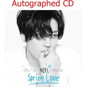 [Autographed CD] TEENTOP NIEL - Spring Love (Repackage) CD [Pre-Order]