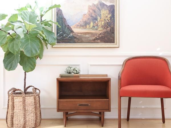 Best Broyhill Vintage Mid Century Modern Walnut Single 400 x 300