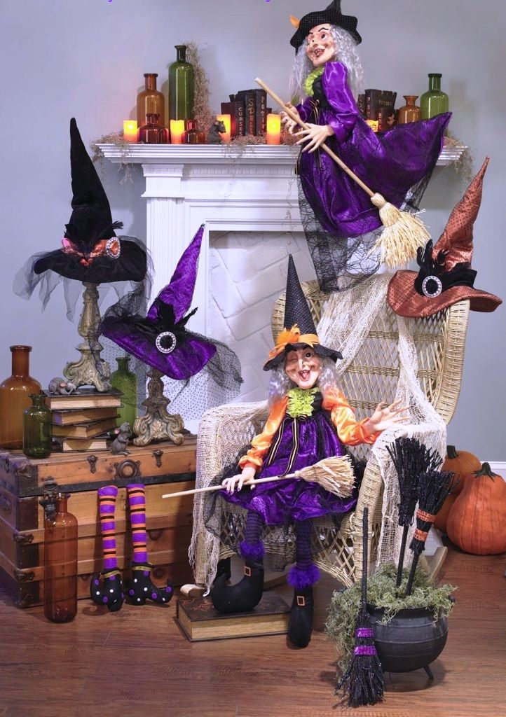 Wickedly Fun 15 Witch Decorations for Halloween Witches - witch decorations