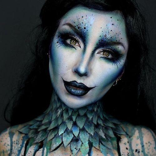 Halloween and makeup image Face Art Pinterest Maquillaje