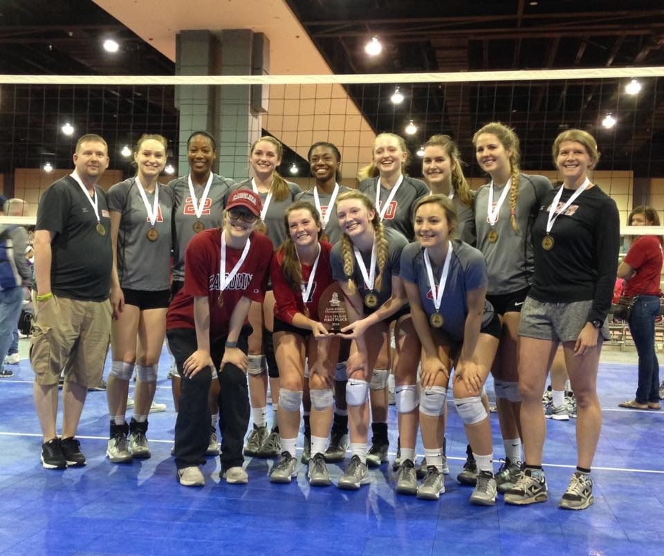 Rvc Junior Girls 17 N Finished 1st In Gold Of The 18s Division At The South Atlantic Championships Tournament May 2016 Volleyball Clubs Volleyball Richmond