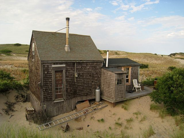 Exceptional Dune Shacks Cape Cod Part - 6: The Dune Shacks In The #CapeCod National Seashore Have Bee Attracting  Artists And Writers For