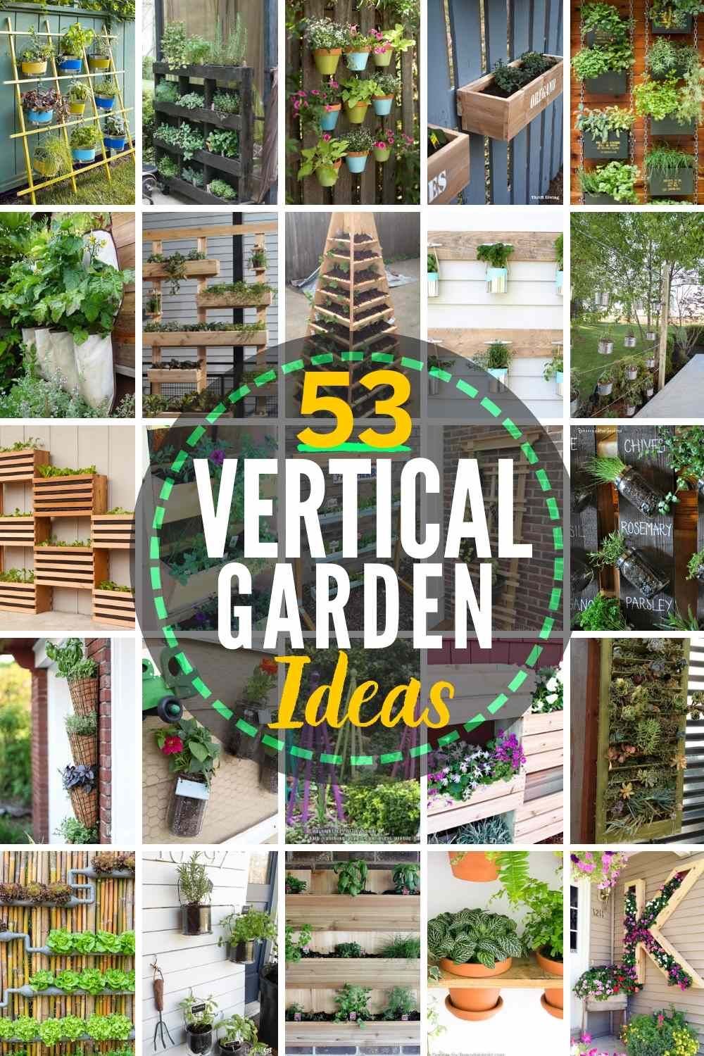 53 Best Diy Vertical Garden Ideas In 2020 Vertical Garden Diy Garden Wall Designs Vertical Garden Design
